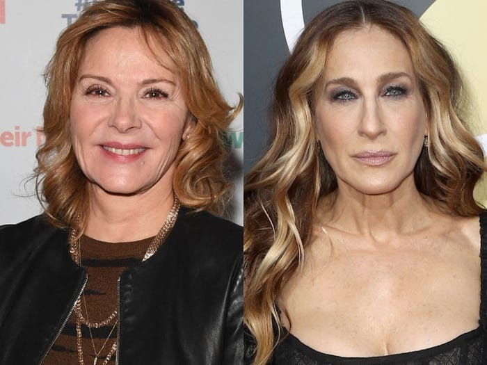 Kim Cattrall and Sarah Jessica Parker costarred in HBO