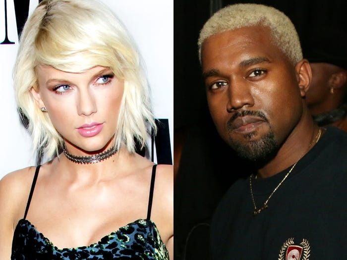 "Taylor Swift was offended when Kanye West referenced her in his song, ""Famous."""